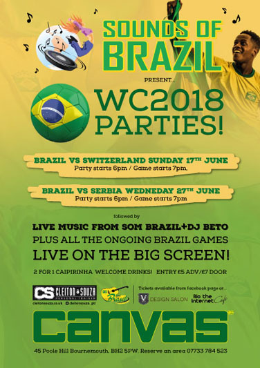 Sounds of Brazil World Cup 2018